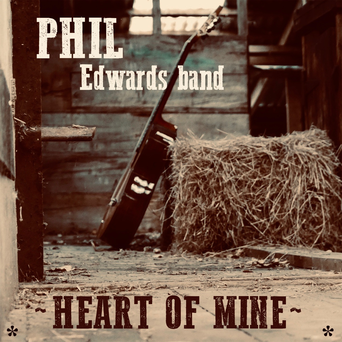 Heart Of Mine – New Release From Phil Edwards Band